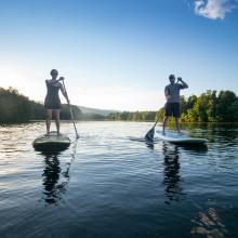 Beaver Creek Paddle Boarding