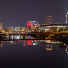 Downtown Des Moines Skyline
