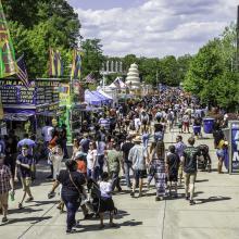 Dogwood Festival Crowd