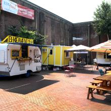 Food Trucks at Kesey Square by Colin Morton