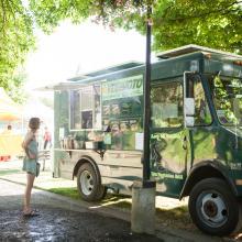 Vegimoto Food Truck at Cuthbert Amphitheater
