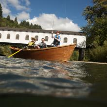 Drift Boating on the McKenzie River by Eugene, Cascades & Coast