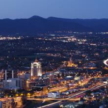 Roanoke Valley Dusk