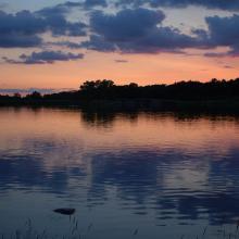 Rockford, Illinois Rock Cut State Park's Pierce Lake
