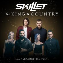 Skillet and for KING & COUNTRY to play Kansas Expocentre April 14