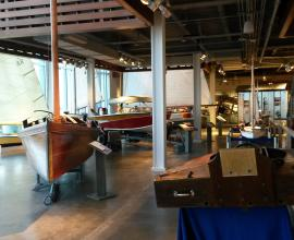 Maritime & Seafood Industry Museum - First floor