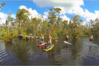 GO PADDLEBOARD: Louisiana's Northshore