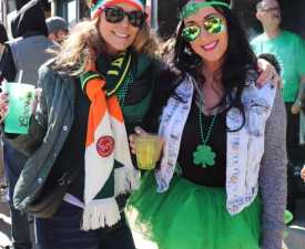 Downtown Racine's St. Patrick's Day Parade