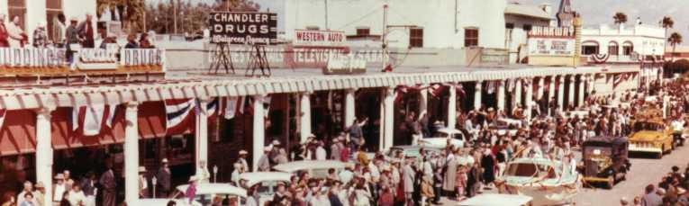 Historic Downtown Chandler Vintage Photo