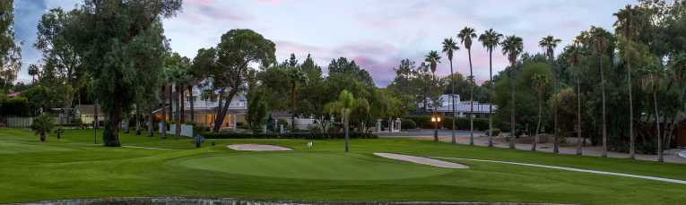 San Marcos Golf Course at Sunset