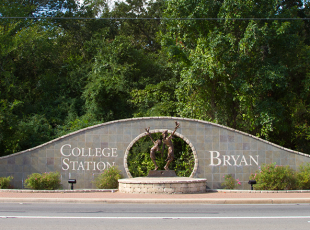Bryan College Station street art