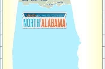 North Alabama Map