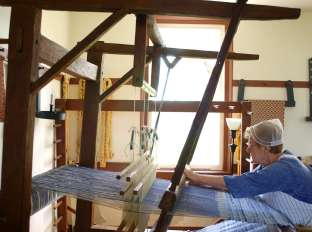 Weaving Demonstration, Shaker Village