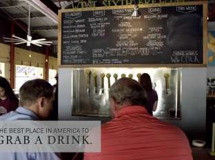 """The Best Place in America to Grab a Drink"" - Lexington, KY"