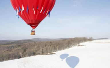 Outdoor Winter Activities - Balloon Rides