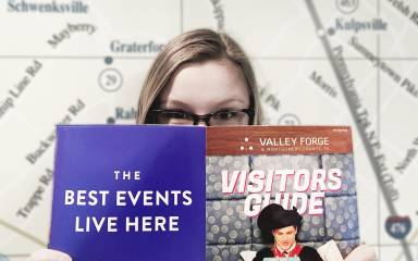 Reading the 2017 Valley Forge Visitors Guide