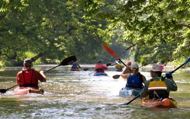 WATER SPORTS - SCHUYLKILL RIVER SOJOURN