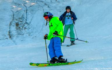 Outdoor Winter Activities - Skiing