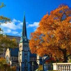 Capitol Complex Church Fall