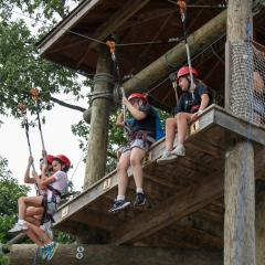 Ziplines Roundtop Resort
