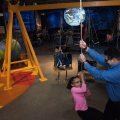 Whitaker Center - Harrisburg Dad/Daughter @ play