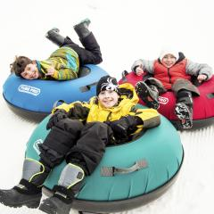 Group Snow Tubing