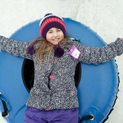 Snow Tubing Fun