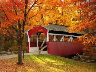 Covered Bridge, Somerset Historical Center