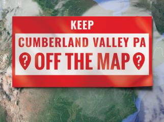 Keep Cumberland Valley Off the Map