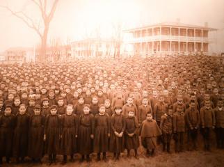 Carlisle Indian School Photo