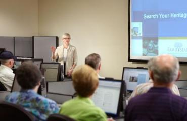 Classes at the Family History Library