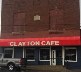 Clayton Cafe Storefront