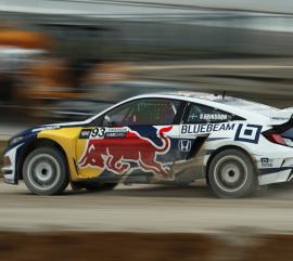 Redbull Global Rallycross Car