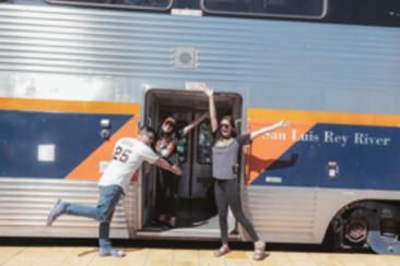 Battle of the Bay - Amtrak promotion