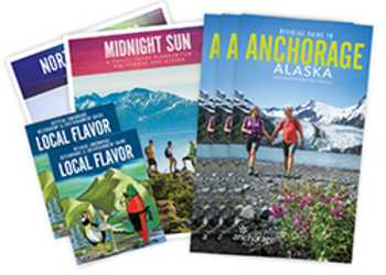 Anchorage sales materials available to agents.