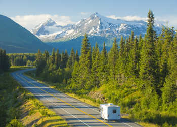 Alaska RV travel outside Anchorage
