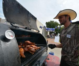 Barbecue at Grapefest