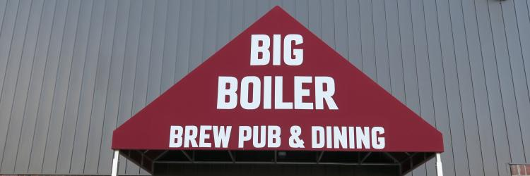 Exterior of Big Boiler Brew Pub