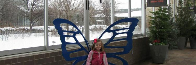 Butterfly Chair At Meijer Gardens