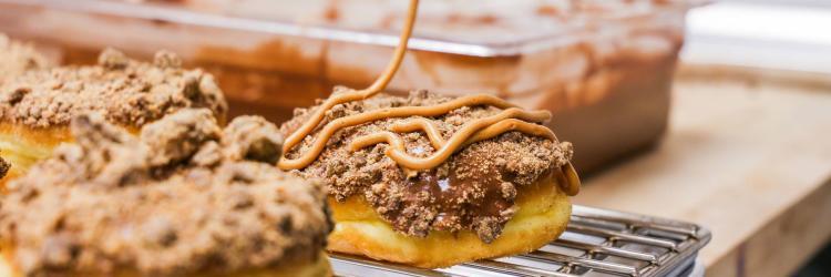 Rehab donut photo courtesy of The Donut Conspiracy