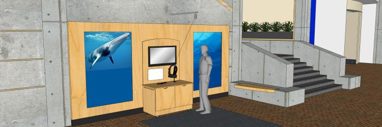 Grand Rapids Public Museum Announces New Virtual Reality and Touchscreen Experience Meet Finny – Exploring the Museum's Iconic Fin Whale Skeleton