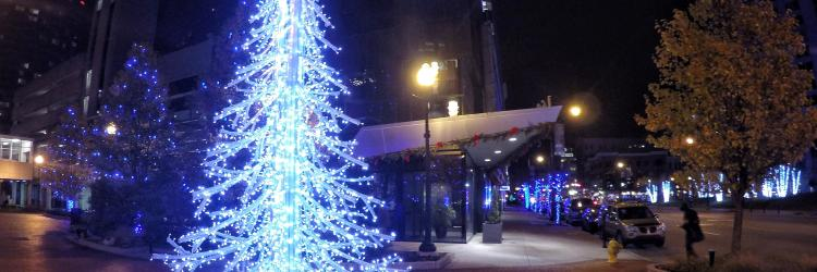 Downtown Grand Rapids Holiday Lights