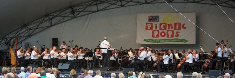 Marcelo Lehninger debuts at D&W Fresh Market Picnic Pops with Classical Fireworks!