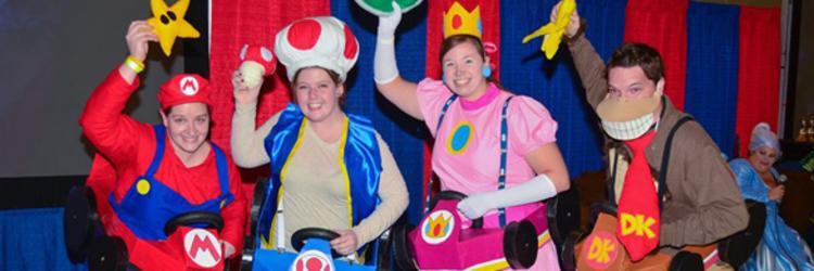 Grand Rapids Comic Con Mario Kart