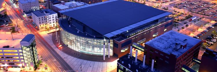 Copy of Copy of Van Andel Arena at night