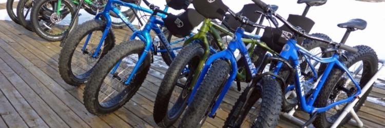 Fat-tire biking at Indian Trails 1