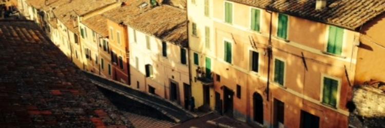 Perugia Street Scene