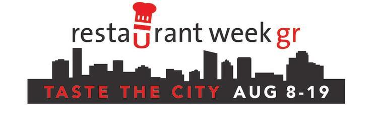 Restaurant Week GR Complete 2018 Logo