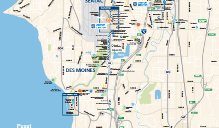 Plan Your Trip Maps Seattle Southside