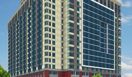 Washington Place Hotel Rendering